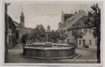AK Foto Lichtenberg im Frankenwald Kriegerdenkmal mit Gasthof 1934