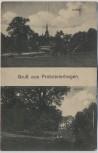 AK Gruß aus Probsteierhagen Kirche Schloß Feldpost 1917 RAR
