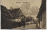 VERKAUFT !!!   AK Haderslev Hadersleben Straßenansicht Bauernhöfe Feldpost Nordschleswig Dänemark 1917