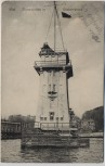 AK Kiel Signalstation in Düsternbrook Feldpost 1914