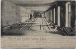 AK Schilksee Kiel Gruss von Hugo Krützfeld's Kegelbahn Feldpost 1914 RAR