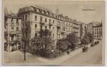 AK Baden-Baden Luisenstrasse Hotel Einhorn 1920