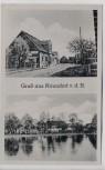 AK Gruß aus Naundorf v.d.H. Gasthof Erholung b. Quellendorf Dessau-Roßlau 1940