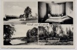 AK Mehrbild Gruß aus Tostedt Motel Tankstelle Badeanstalt Denkmal 1950 RAR