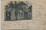 AK Gruss aus Rastede Grossherzogl. Palais 1898
