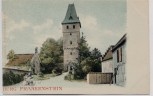 AK Mühltal Burg Frankenstein Odenwald 1900