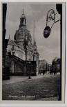 AK Dresden Am Jüdenhof mit Frauenkirche 1930