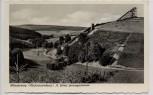 AK Foto Winterberg Hochsauerland St. Georg-Sprungschanze aus Holz 1950