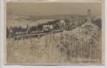 VERKAUFT !!!   AK Foto Schlesiertal Kynsburg Zagórze Śląskie Burg Grodno im Winter Schlesien Polen 1924