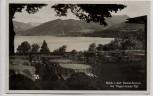 AK Foto Gmund am Tegernsee Blick von Gaststätte u. Kaffee Gut Kaltenbrunn 1932