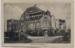 AK Duisburg Pension und Restaurant Wolfsburg 1917