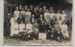 AK Foto Gebersreuth Gruppenfoto Zum Andenken an das 30-jährige Bestehen des Jugendvereins b. Gefell 1920 RAR