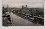 AK Foto Neuss Hafen 1952