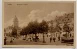 AK Gotha Hauptmarkt Ostseite Feldpost 1916