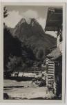AK Foto Garmisch-Partenkirchen Aule-Alm 1930