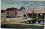 AK Posen Poznań Ansiedlungskommission und Paulikirche Feldpost Polen 1916