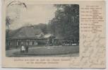 AK Gasthaus zum Uglei am Uglei-See mit der 600jährigen Rieseneiche bei Eutin mit Gedicht 1903