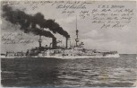 AK Deutsches Kriegsschiff SMS Zähringen Kaiserliche Marine 1905