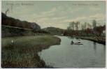 AK Gruss aus Bergedorf Zum Waldhaus, J. Honig Hamburg 1913