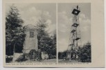 AK Grünenplan Raabe-Turm und Raabe-Denkmal b. Delligsen 1916
