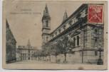 AK Smichov Smíchov Prag Praha Rathaus und Kirche Tschechien 1921