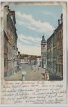AK Litho Gruss aus Altenburg Markt 1902
