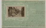 Präge-AK Gruss aus Gera Sorge 1901