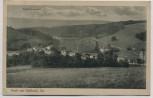 AK Gruß aus Hallbach in Sachsen Ortsansicht mit Seyfert's Gasthof b. Olbernhau 1929