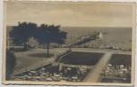 AK Foto Ostseebad Brunshaupten Kühlungsborn Blick auf die Seebrücke 1934