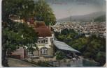 AK Freiburg im Breisgau Ortsansicht vom Lorettoberg 1910