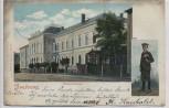 AK Freiberg Realgymnasium mit Schüler 1901