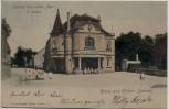AK Gruss aus Ostrau (Sachsen) Gasthof zum wilden Mann 1903