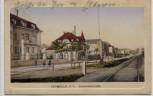 Präge-AK Schmölln in Thüringen Eisenbahnstraße 1920 RAR