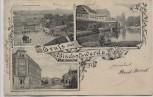 AK Gruß aus Bischofswerda Ortsansichten 1901