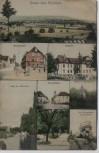 AK Mehrbild Gruss aus Renchen Hauptstrasse Stadtgarten Mühlbach ... Feldpost 1915 RAR