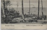 AK Ostseebad Misdroy Międzyzdroje Ausblick vom Kaffeeberg auf des Meer Pommern Polen 1910