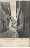 AK Gruss aus Königstein im Taunus Hinter der alten Schlosspforte 1905 RAR