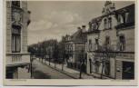 AK Nordenham Hafenstrasse mit Cafe und Geschäft 1933 RAR