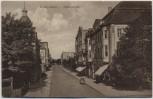 AK Nordenham Hafenstrasse mit Karren 1910 RAR