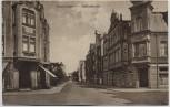 AK Nordenham Hafenstrasse mit Restaurant und Geschäft 1910 RAR