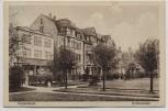 VERKAUFT !!!   AK Nordenham Hafenstrasse mit Bäumen und Geschäft 1931 RAR