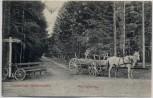 AK Ostseebad Kellenhusen Am Kreuzweg Fahrrad mit Pferdekutsche 1911
