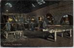 AK Witten an der Ruhr Glashütte Innenansicht 1920 RAR