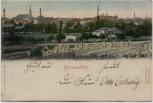 AK Großenhain in Sachsen Ortsansicht mit Feld 1902