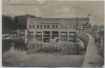 AK Wettin an der Saale Turbinenwerk bei Wettin-Löbejün 1907 RAR