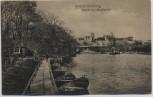 AK Solbad Bernburg Schloß vom Kesselbusch 1920