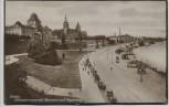 AK Foto Stettin Szczecin Hakenterrasse mit Museum und Regierung Pommern Polen 1924