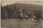 AK Waldhaus Karches mit Haberstein bei Bischofsgrün Fichtelgebirge 1910