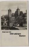 AK Gruß aus dem 1000-jährigen Bautzen Alte Wasserkunst und Michaeliskirche 1933