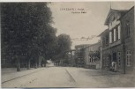AK Lensahn in Holstein Straßenansicht mit Kaufhaus 1910
